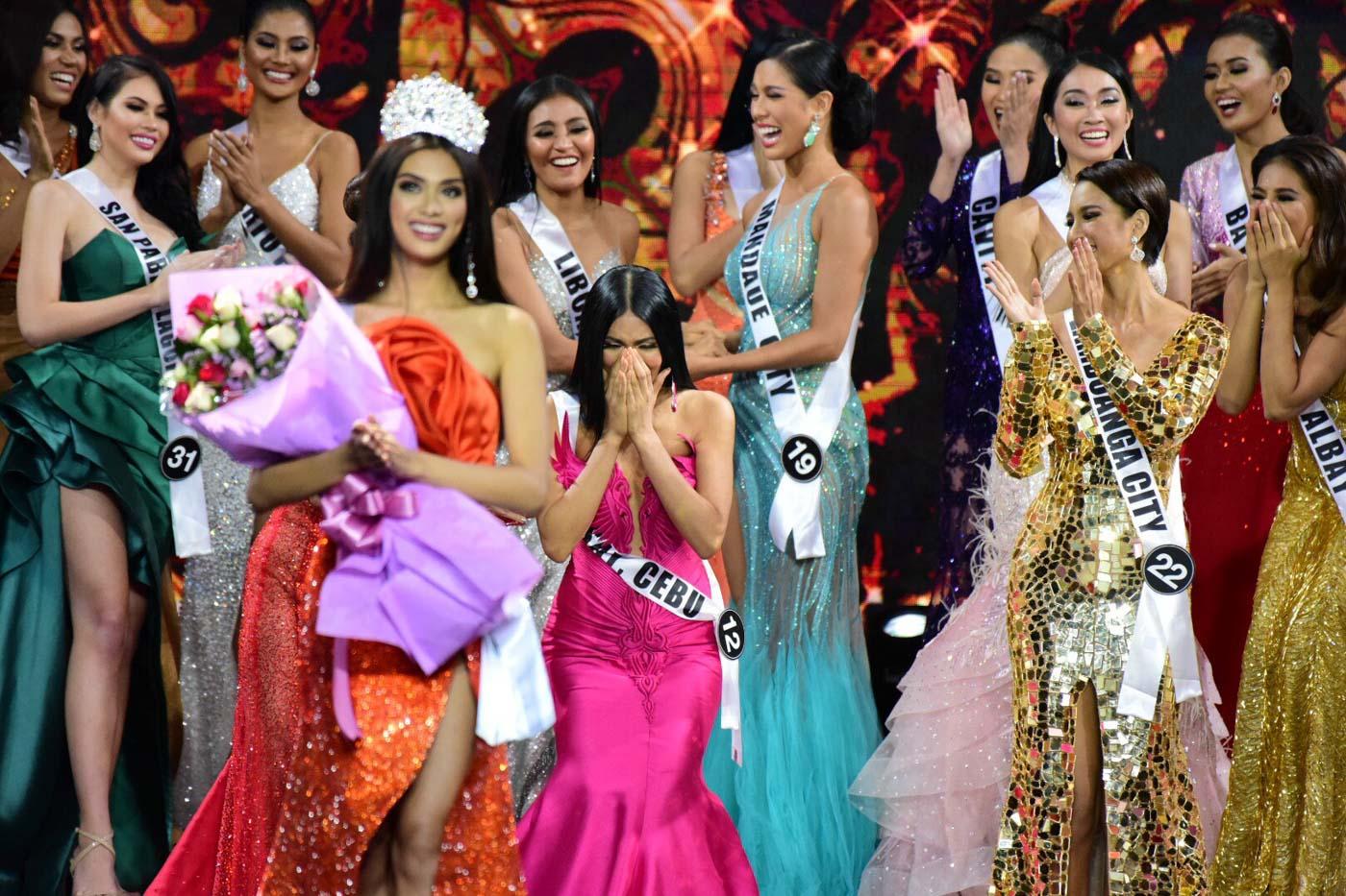 نتيجة بحث الصور عن GAZINI GANADOS crowning moment | BINIBINING PILIPINAS 2019 announcement of winners | Audience View