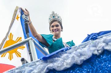 IN PHOTOS: Pia Wurtzbach at grand homecoming parade