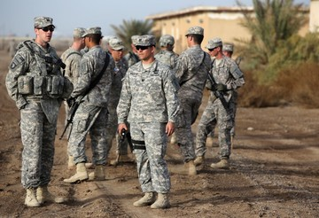 Iran leader calls on Iraq to demand U S  withdraw troops