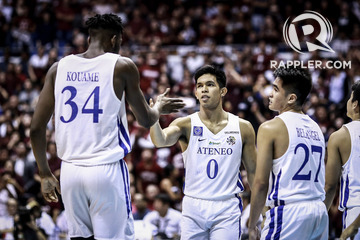 reputable site ffc0a 59c50 No surprise: UAAP teams pick Ateneo as team to beat