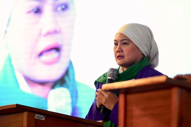 NEW CHALLENGE. Mindanaoan civic leader Samira Gutoc wants the youth to be part of the governance of the new Bangsamoro Autonomous Region in Muslim Mindanao. Photo by Leanne Jazul