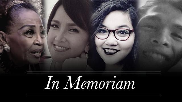 Edgar Portalan B.I.T.E.S.: Filipino Celebrity Deaths