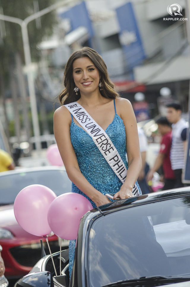MEMORIES. Rachel Peters at the Parade of Beauties on March 10. Photo by Rob Reyes/Rappler