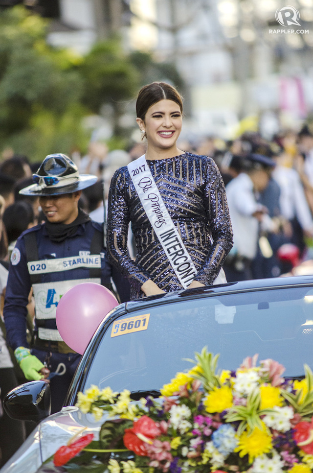 PAGEANTRY. Katarina Rodriguez says she will explore the opportunities of pageantry before thinking of her next step. Photo by Rob Reyes/Rappler