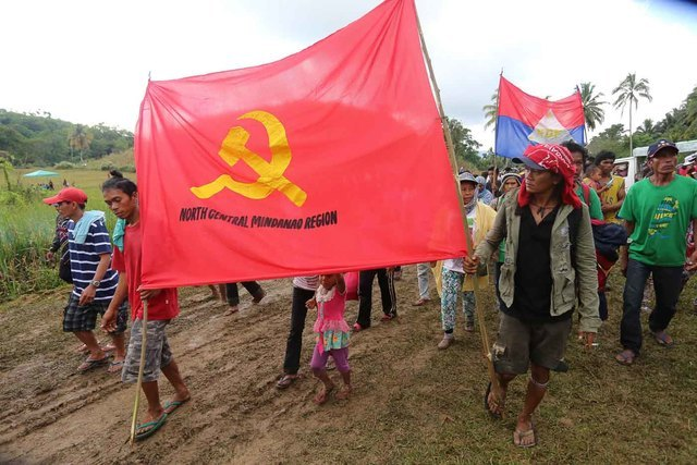 COMMUNIST INSURGENCY. File photo from the CPP's 48th anniversary celebration in December 2016. File photo by Manman Dejeto/Rappler