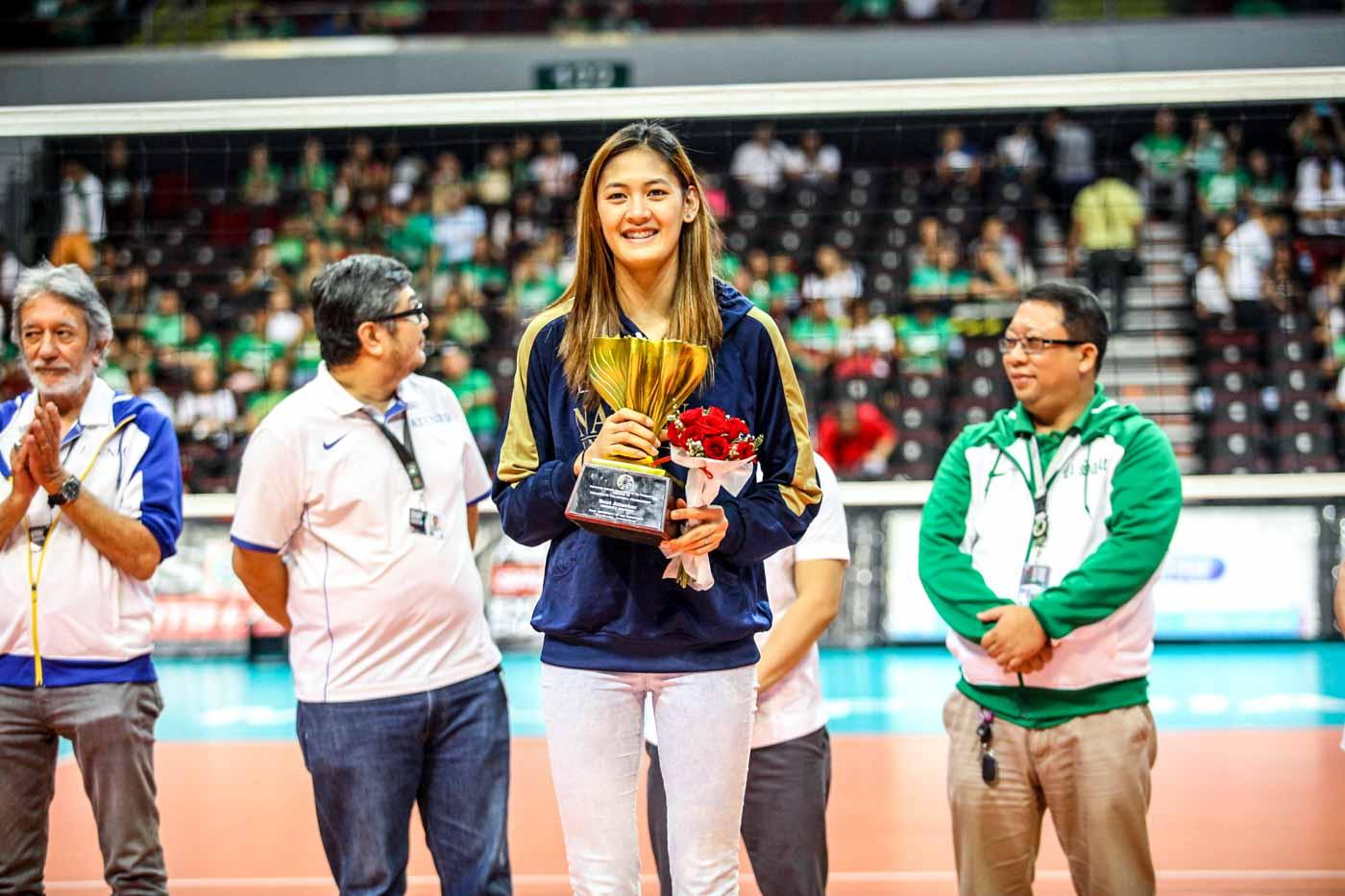 IN PHOTOS: UAAP Season 78 women's volleyball awarding