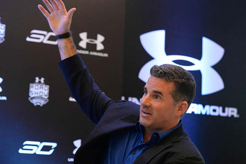 6 questions for under armour ceo kevin plank for Thrilla in manila shirt under armour