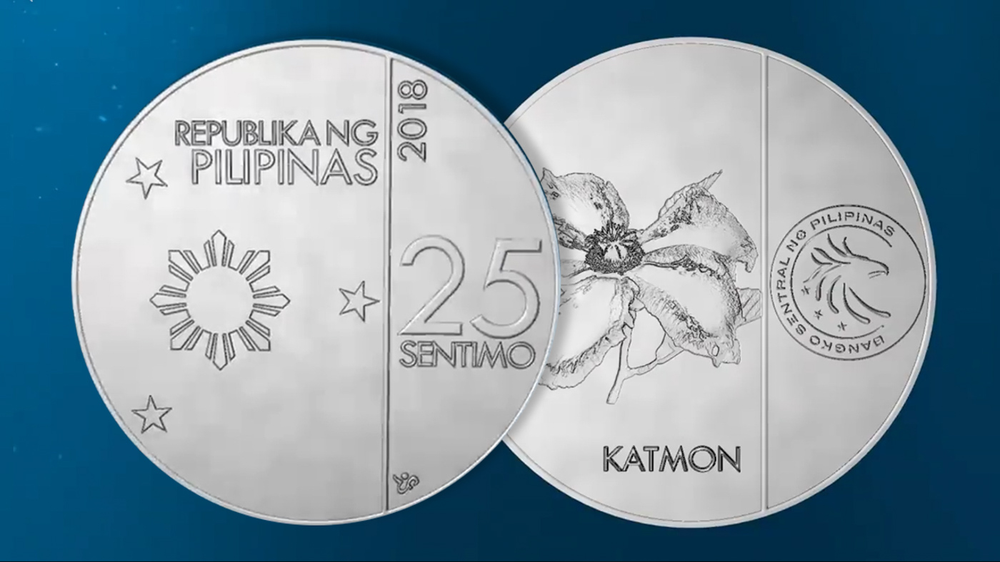 LOOK: Newly Designed Philippine Coins
