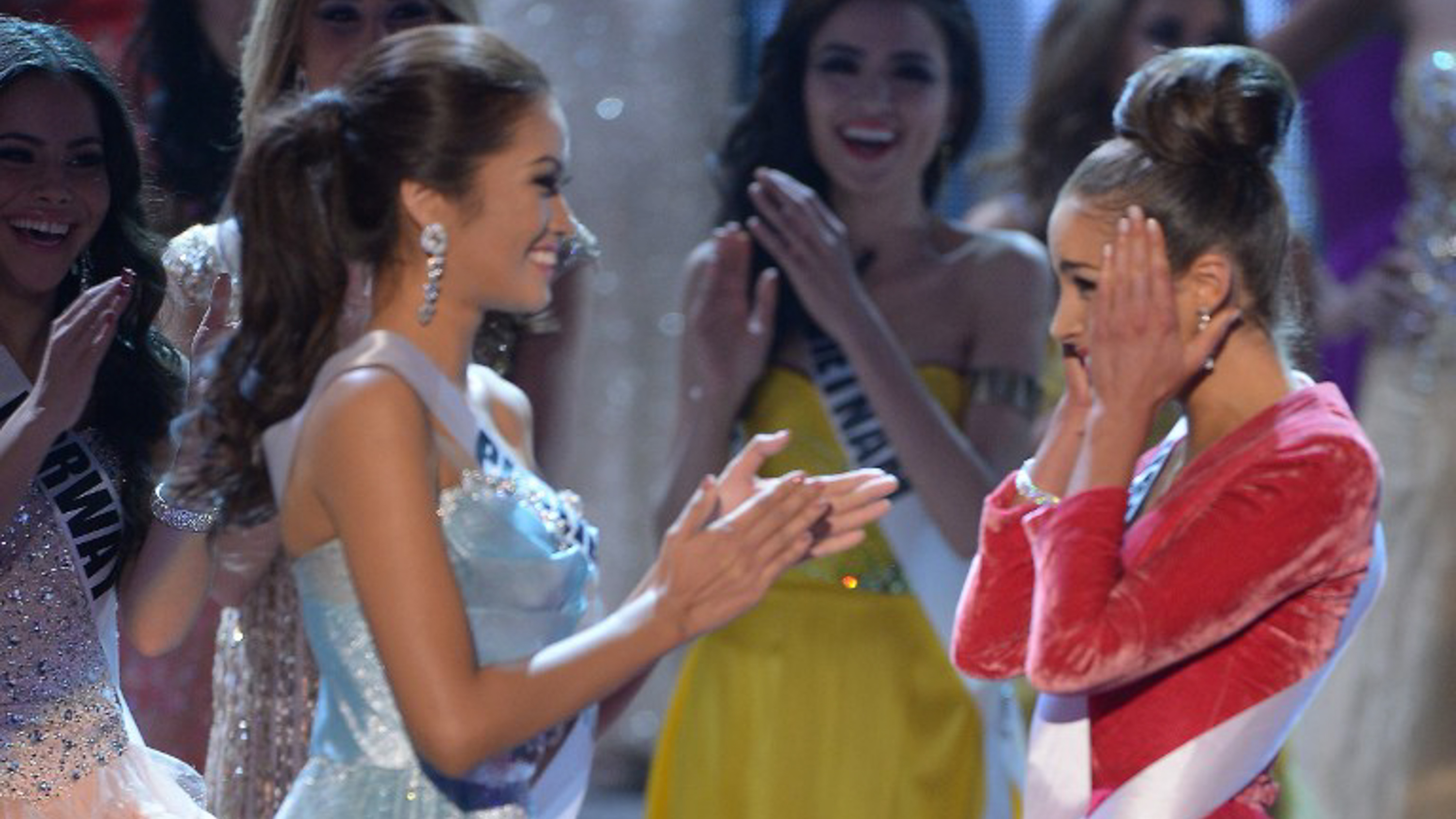 3d5c61416c774 WATCH: 3 Great Miss Universe Q&As that weren't enough to win the crown