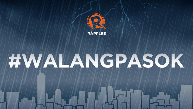 #WalangPasok: Class suspensions, Monday, February 12