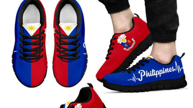 409783c4d68795 NHCP calls shoe brand out for using Philippine flag on sneakers