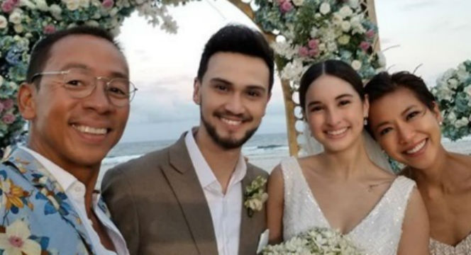 In Photos Celebrities At Coleen Garcia Billy Crawfords Wedding