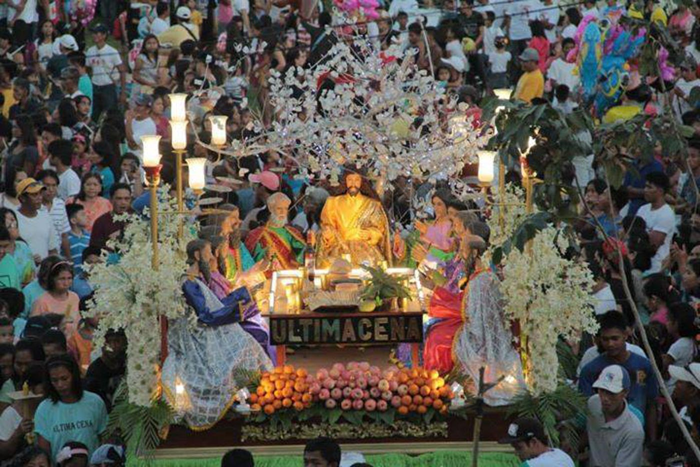 The purpose of Holy Week processions