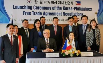 Philippines, South Korea begin free trade deal talks