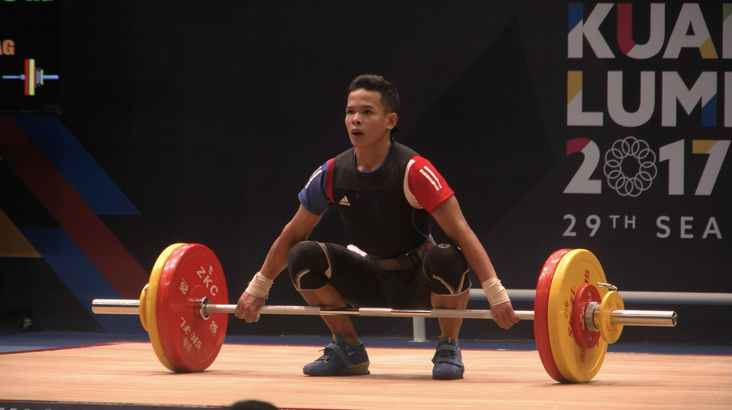Colonia weightlifting Aug 28 2017   02 - Asian Games Weightlifting