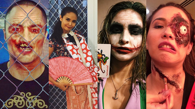 sc 1 st  Rappler & IN PHOTOS: PH stars in costume Halloween 2015