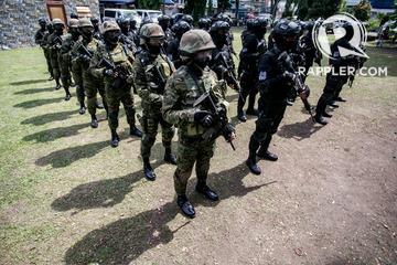 LOOK: Davao's new SWAT members