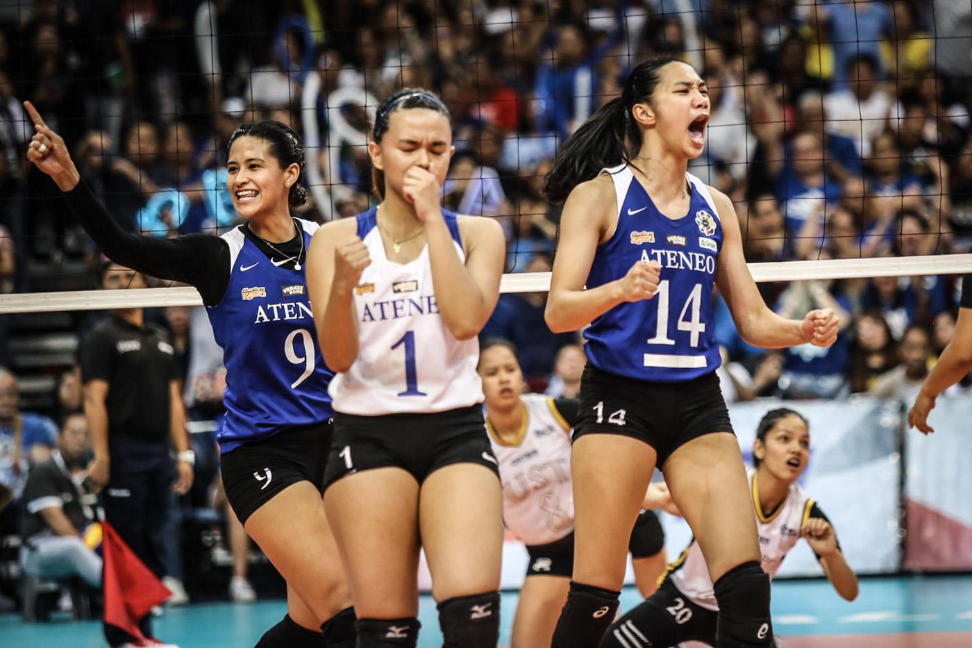 Ateneo breaks UST's heart, reclaims UAAP volleyball crown