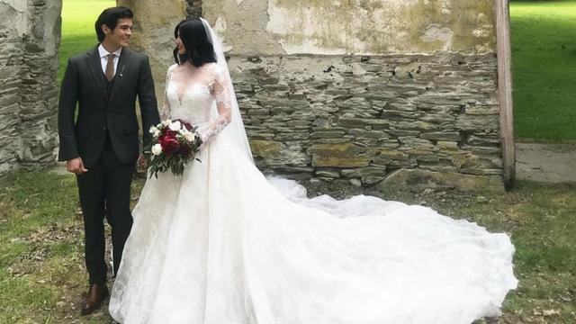 IN PHOTOS: Anne Curtis and Erwan Heussaff\'s wedding looks