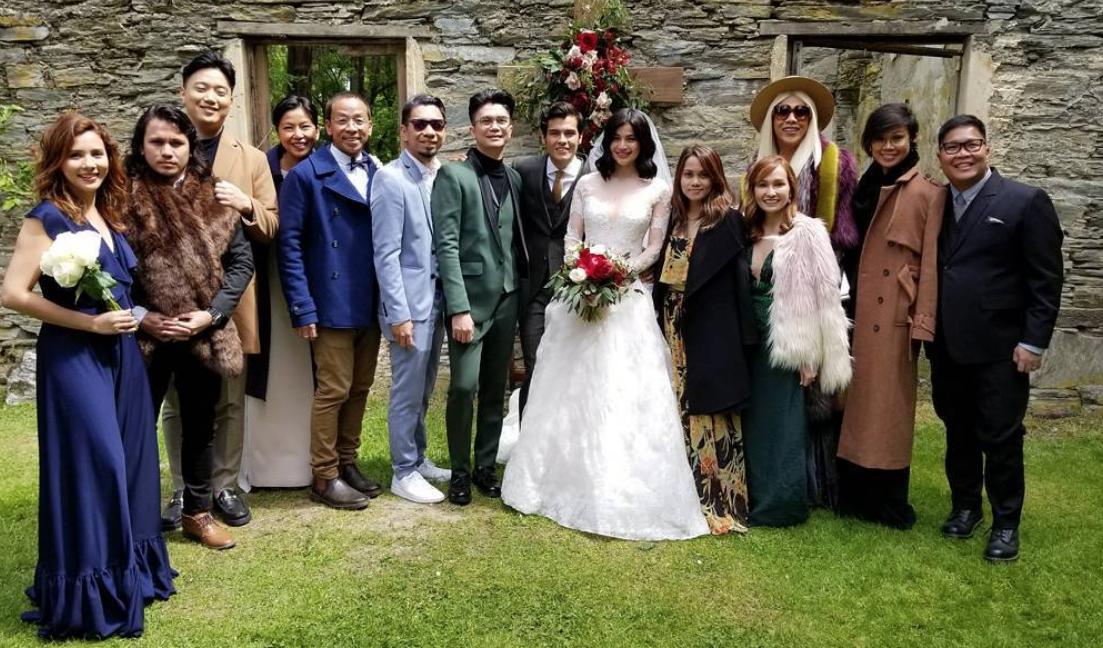 IN PHOTOS: Stars at Anne Curtis, Erwan Heussaff wedding