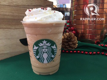 Christmas Starbucks Drinks.Here S Everything You Can Eat And Drink At Starbucks For The