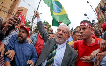 d3e32b9f6f80f This file photo shows Brazil's former president Luiz Inacio Lula da Silva  amid