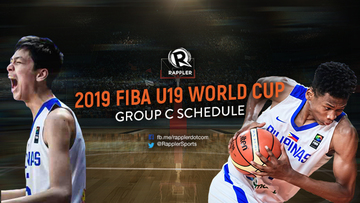 GAME SCHEDULE: Gilas Youth at FIBA U19 World Cup 2019
