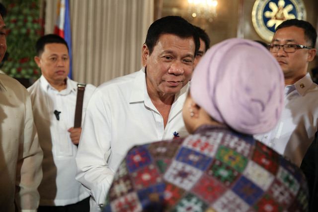 MINDANAO'S MAN. President Rodrigo Duterte believes extremism could tear the country apart. File photo by Karl Norman Alonzo/PPD