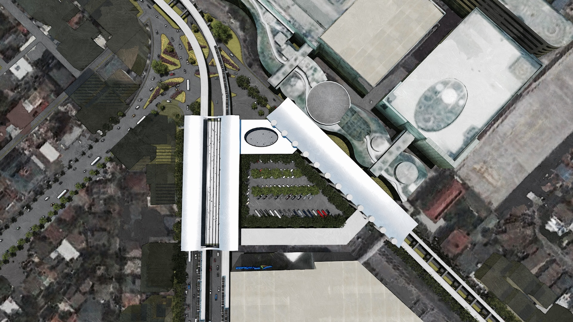After A Decade Construction Of Mrt Lrt Common Station To