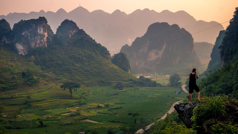 [Vietnam travel guide] Ha Giang's limestone hills and Cao Bang's rivers