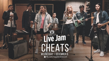 WATCH] Rappler Live Jam: Cheats returns!