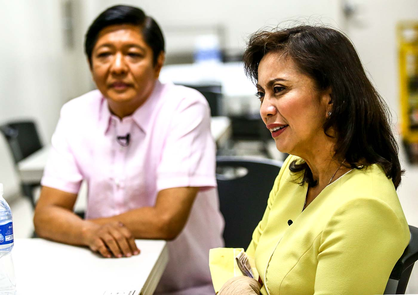 Marcos to Robredo: Why are you afraid of vote recount?
