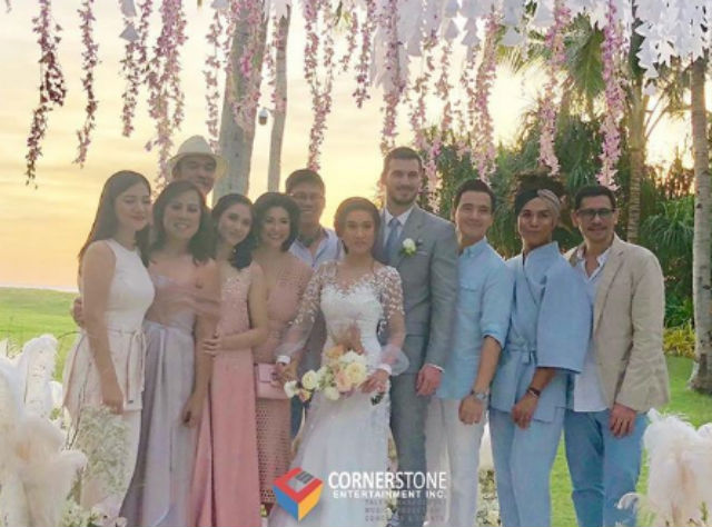 Look Celebrities At Rachelle Ann Go Martin Spies Wedding In Boracay