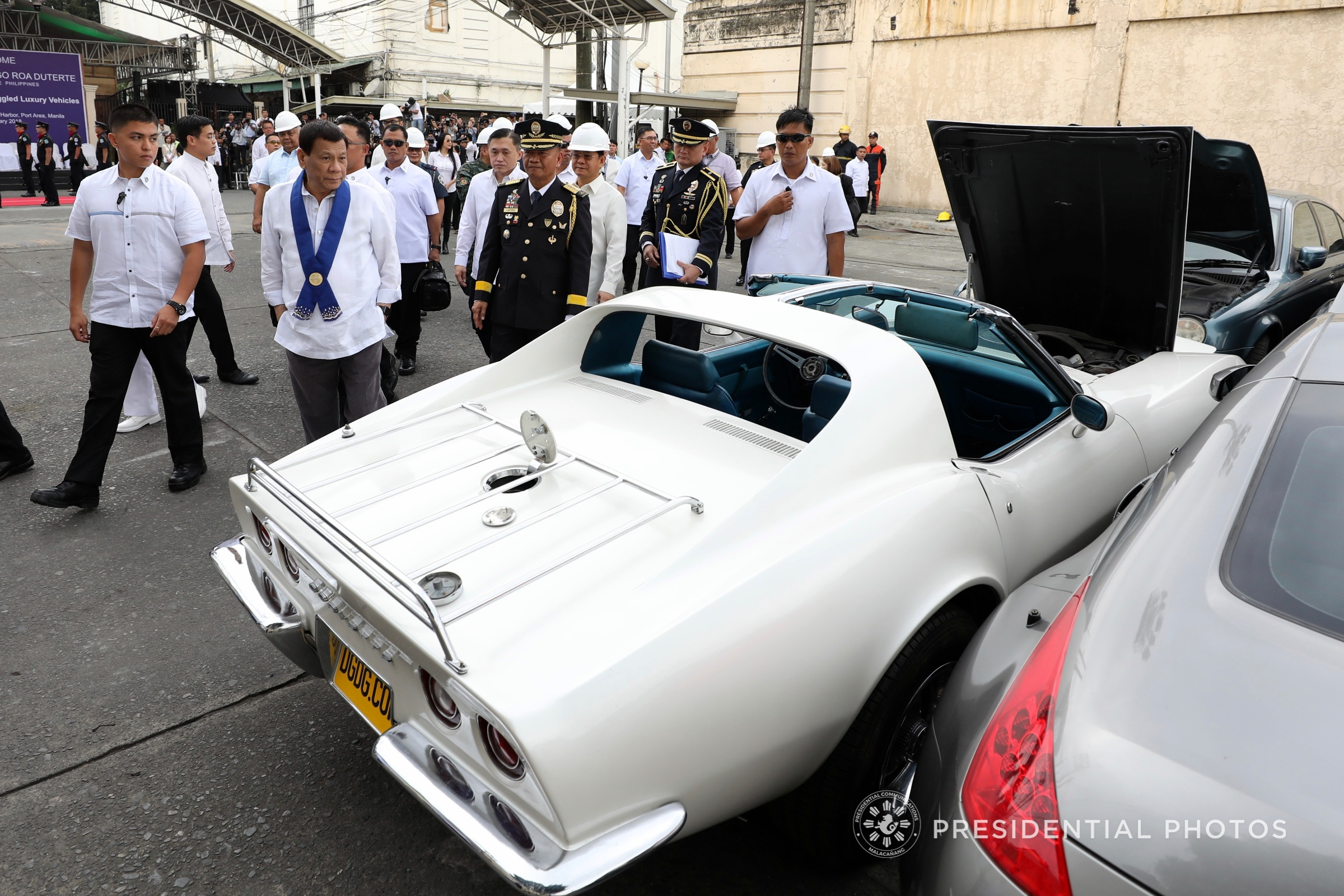 Duterte To Witness Wrecking Of Imported Luxury Cars In Cagayan Next Week