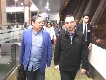 Expelled Philippine ambassador to Kuwait arrives in Manila