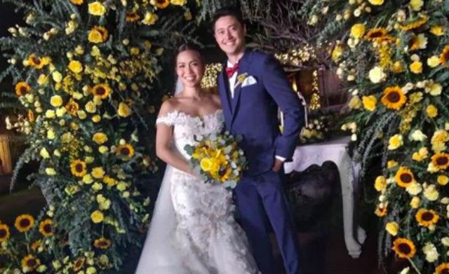 LOOK: Aicelle Santos, Mark Zambrano marry in Batangas - Rappler image