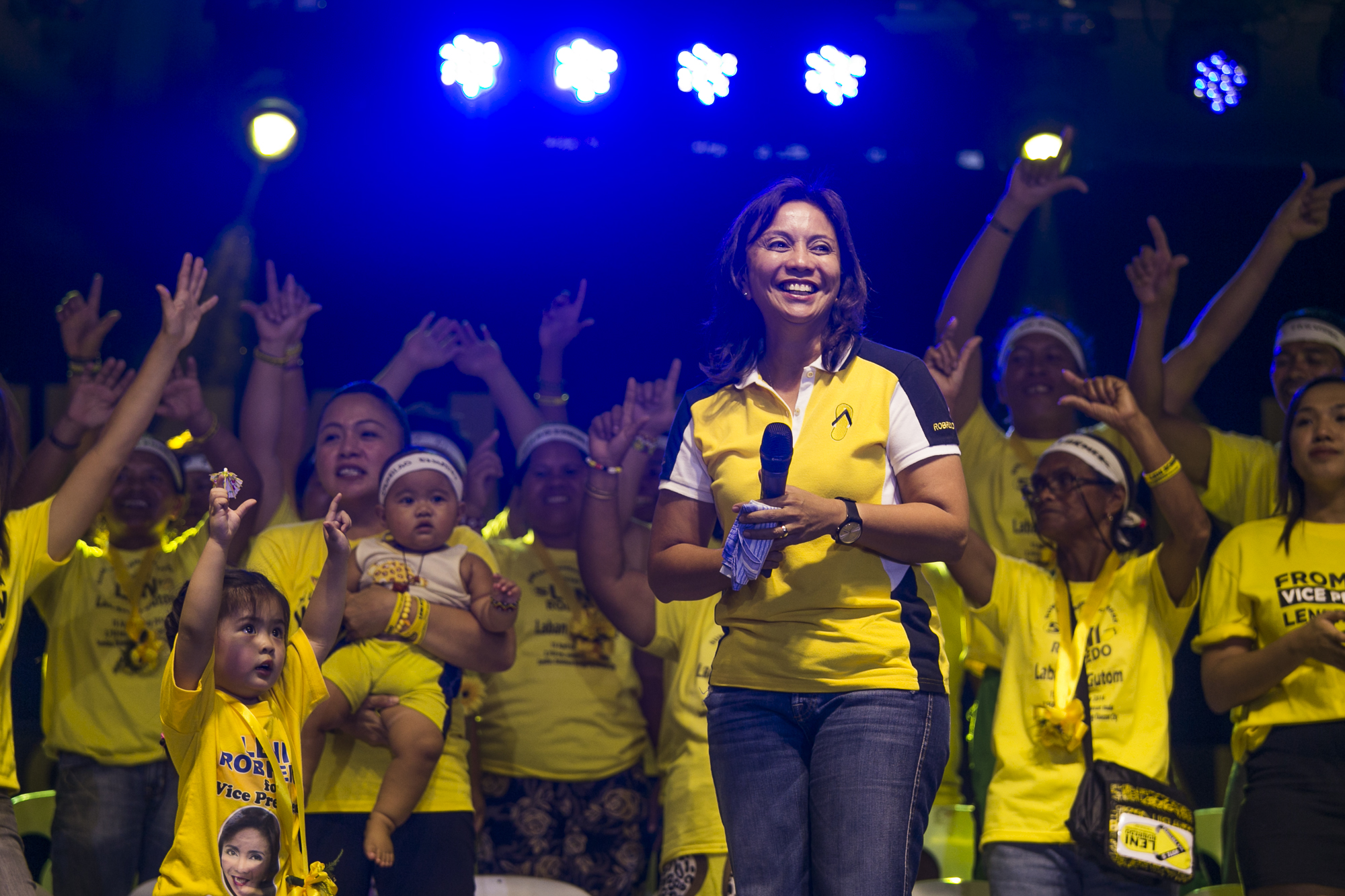 Robredo wins as VP on late husband's birthday