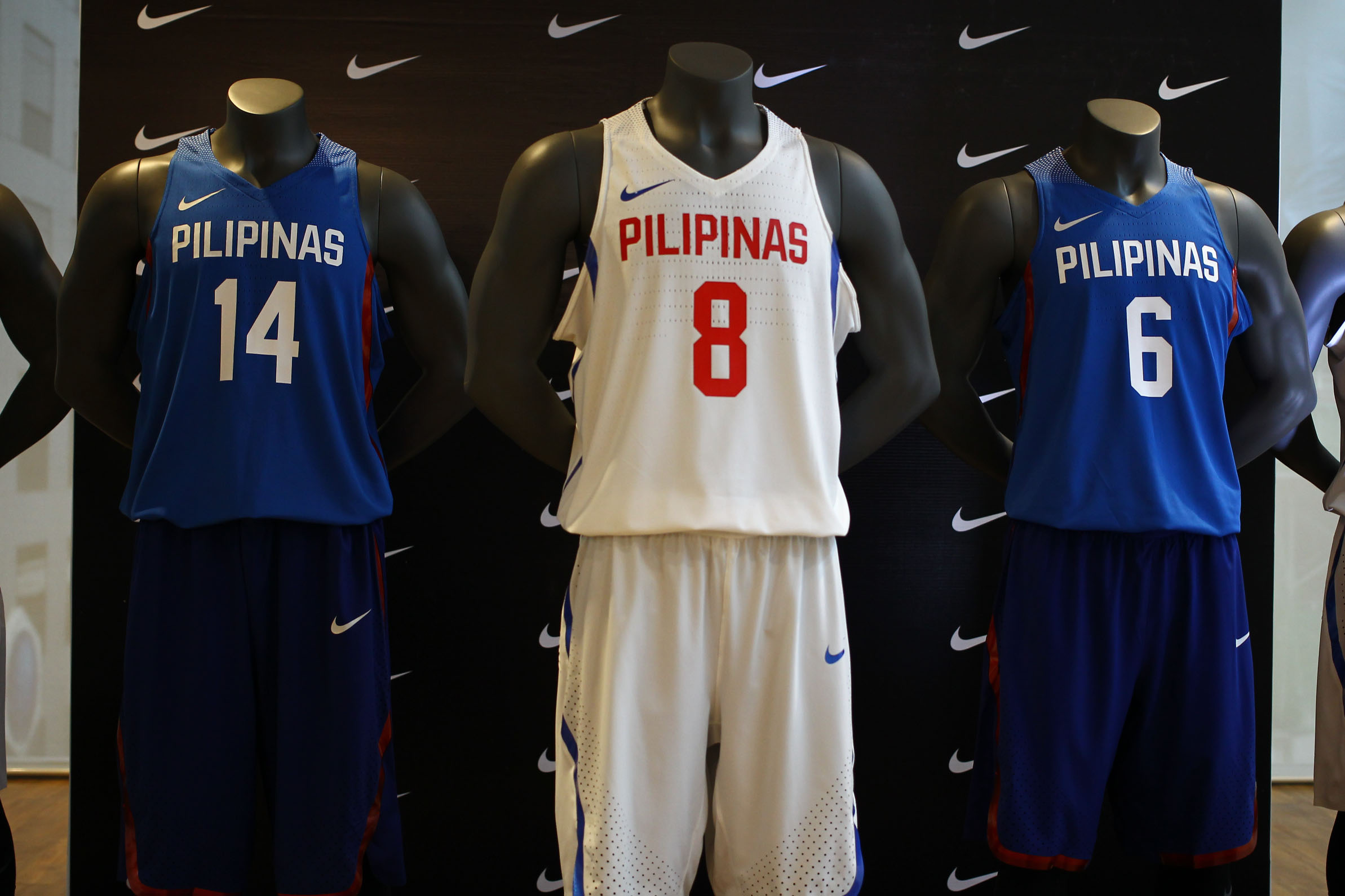 b17442aa29ae IN PHOTOS  New Gilas Pilipinas jerseys unveiled