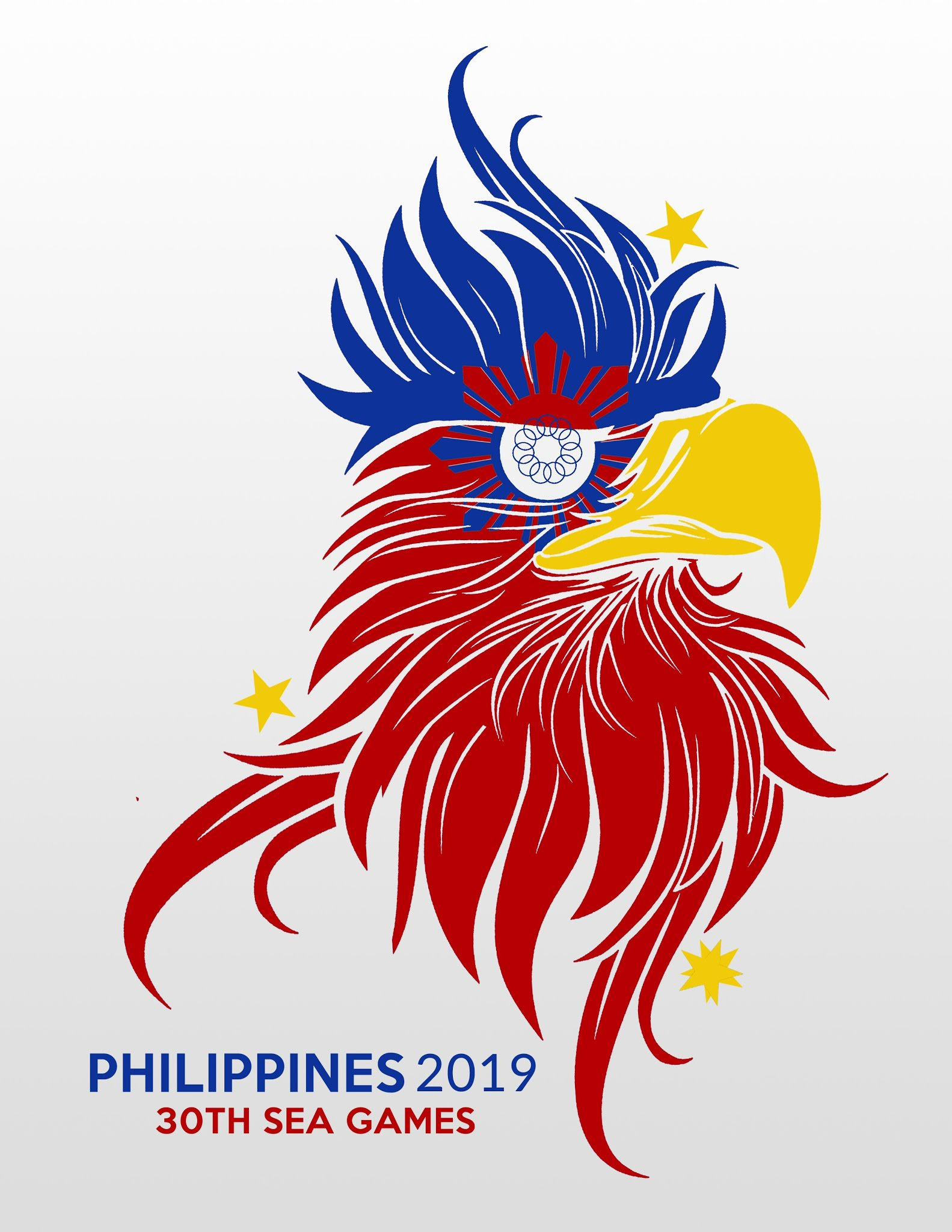 philippine eagle shines as netizens redesign 2019 sea games logo