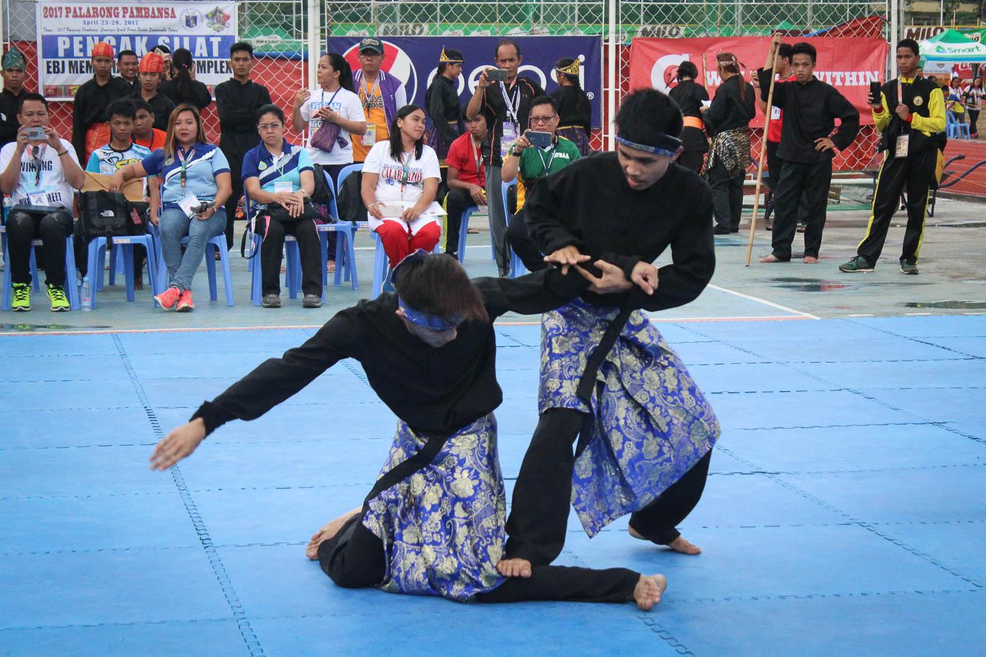 IN PHOTOS: Pencak Silat makes debut in Palarong Pambansa 2017