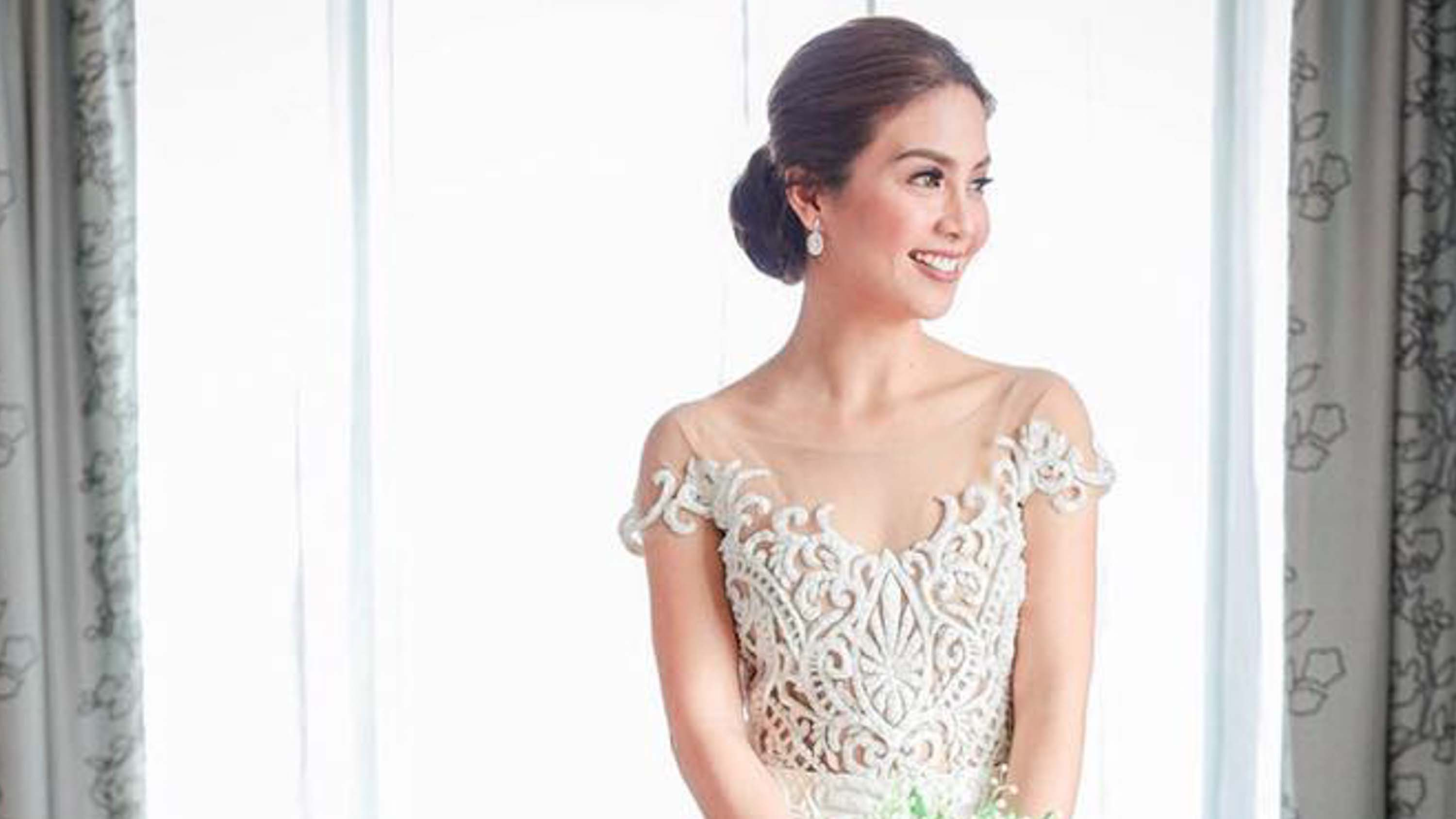 LOOK: Kaye Abad\'s beautiful wedding gown