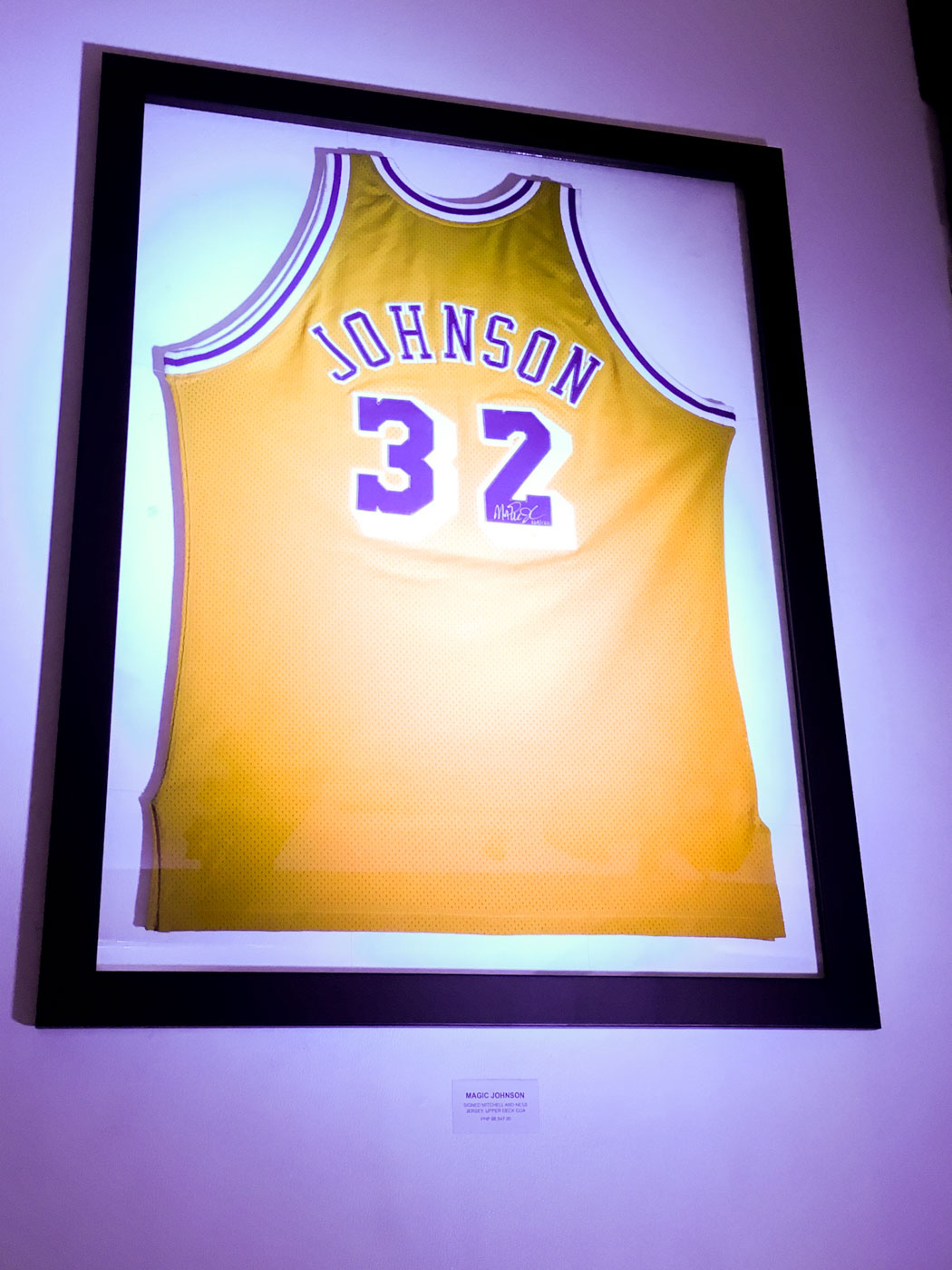 new style 923ac 4ef25 Tired of fake sports memorabilia? Check out Hall of Fame ...