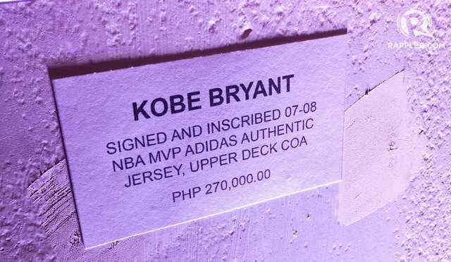 KOBE'S PRIME. The number 24 jersey was the Bryant MVP jersey. Photo by Beatrice Go/Rappler
