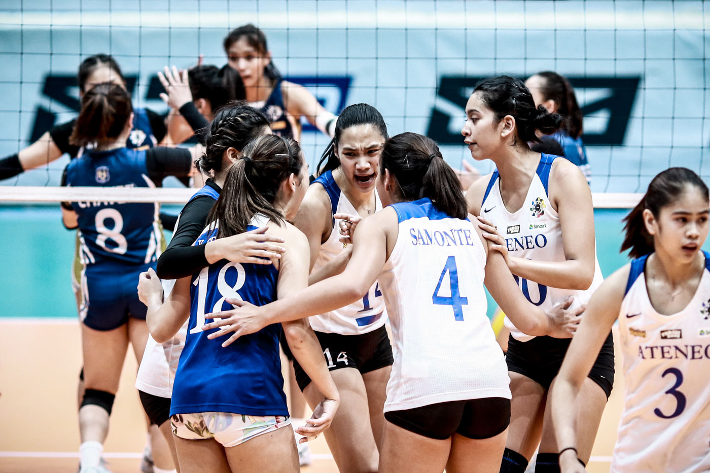 No letup for top-ranked Ateneo Lady Eagles
