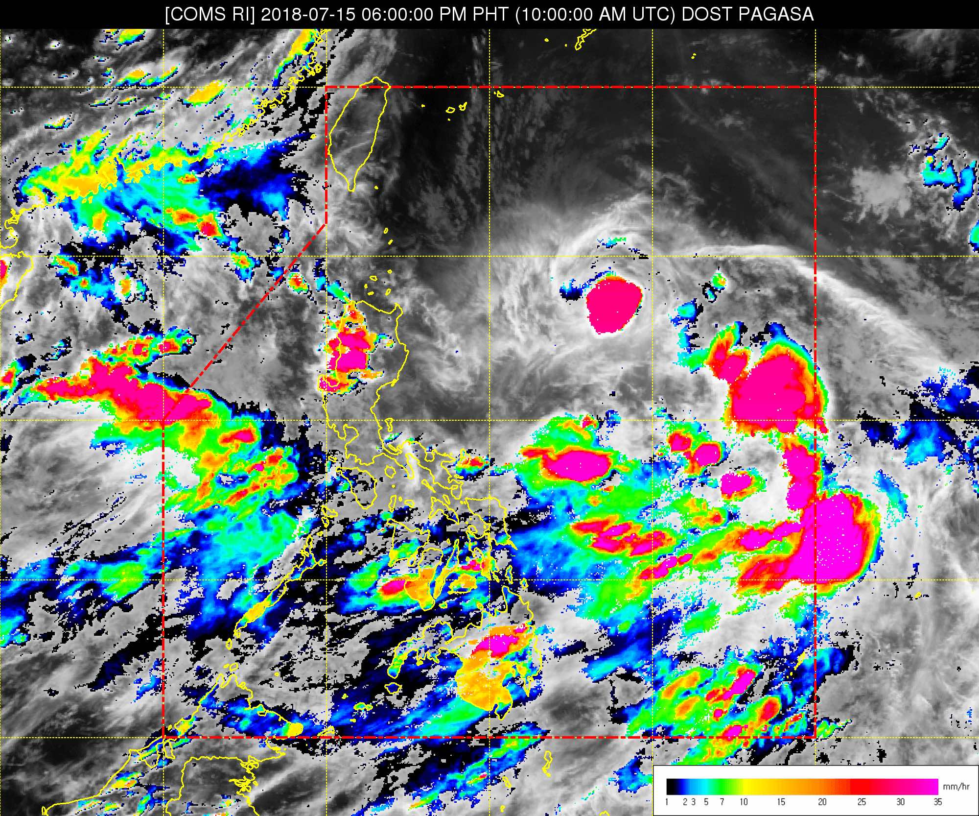LPA could become tropical depression on July 15 or 16