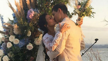 9bb1ac64 Actress Iza Calzado is now Mrs. Ben Wintle. The two married in