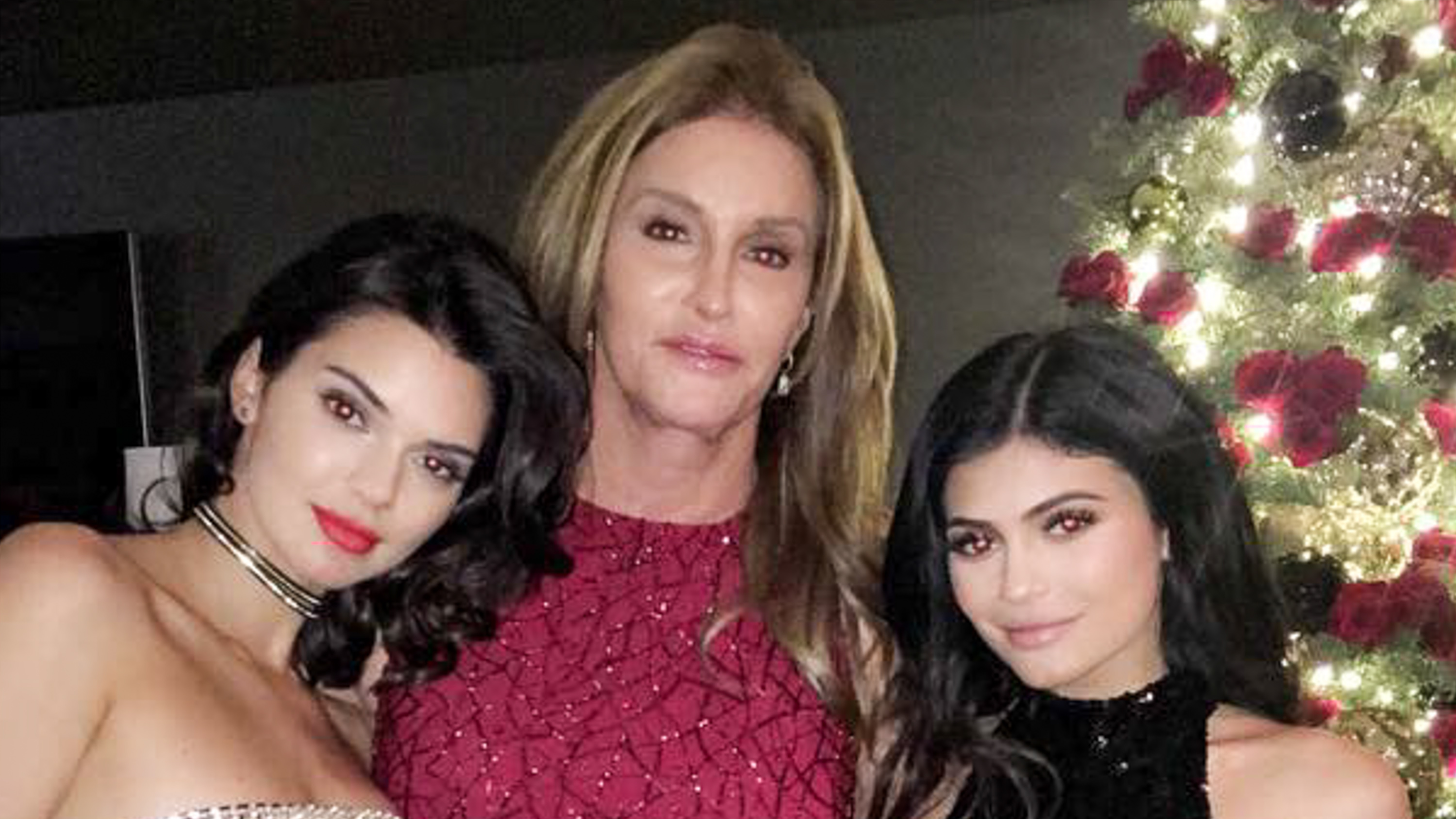 IN PHOTOS: Kardashians, Jenners at Christmas party 2016