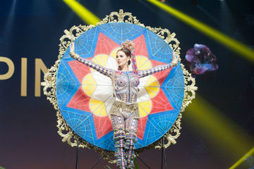 IN PHOTOS: Catriona Gray's Miss Universe 2018 national costume