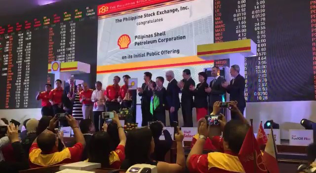 Pilipinas Shell Catches Up In Pse Debut Amid Volatile Market