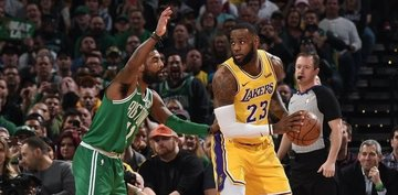 da9a05c316b Celtics  Kyrie Irving and Lakers  LeBron James get to team up
